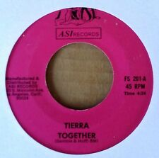 SOUL DANCE 45 - TIERRA - TOGETHER b/w ZOOT SUIT BOOGIE - ASI 45