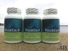 3 VeggieCal-D Seaweed Coral Calcium Vitamin D3 2000iu Kelp Sea Algae Supreme Veg