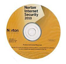 Norton Internet Security 2010 1 User Antivirus & Sicherheitsprogramm-n762