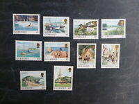 GUERNSEY 1984 DAILY STAMPS SET 10 MINT STAMPS