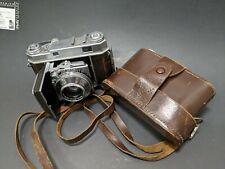 Vintage Kodak Retina Iia 2a Type 35mm Rangefinder Film Camera w/ Case German