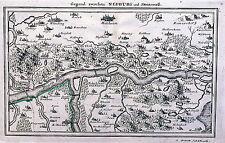 Antique map, Neuburg