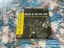 SEALED Eric Dolphy ‎– At The Five Spot IMPORT JAPAN MINI LP CD Prestige ‎– VDJ-1
