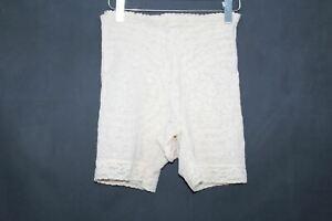 RAGO Ladies Beige Lacette High Waist Long Leg Pantie Girdle Size 38/Medium