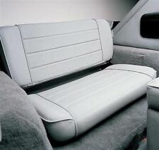 Jeep CJ Wrangler YJ Fold And Tumble Rear Seat  55-95 Gray Smittybilt 41311