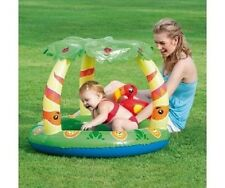Clark Rubber Friendly Jungle Play Pool - Inflatable Shaded Kids Pool