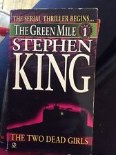 Stephen King The Green Mile version 1 book  and version 4
