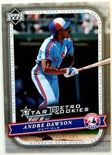 ANDRE DAWSON 2005 Upper Deck Classics SILVER #ED /399 Card #101 Retro Rookies