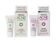 SET DR.SOMCHAI ACNE SPOT TOUCH GEL 4G + ACNE REPAIR CREAM 3G ANTI-ACNE SOLUTION