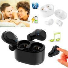 Mini Wireless Earbuds TWS Bluetooth Earphones Music Headhones For iPhone 11 XS X