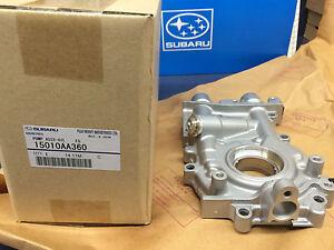 Genuine Subaru 11mm 2.5L Oil Pump WRX STi Turbo Oem  LEGACY Outback 1995-2015