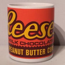 Reese's Milk Chocolate 2 Peanut Butter Cups Coffee Tea Cup Mug Reeses Hersey