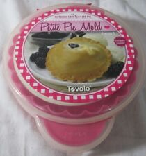 Tovolo Heart Shaped Petite Pie Mold Brand New