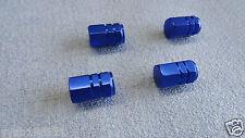 SMART forum di metallo blu polvere TAPPI VALVOLA PNEUMATICO RUOTA in alluminio copertura ESAGONALE