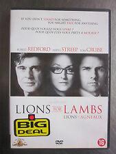 LIONS FOR LAMBS (Lions et Agneaux) : Robert Redford, Tom Cruise, Meryl Streep