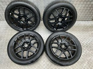 2004 VW BORA SET OF ALLOY WHEELS WITH TYRES 16 INCH 205/55R16 DAMAGED