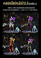 Diablo 3 RoS PS4/ Xbox One - Zauberer/Wizard All 5 Ancient Set's 100% Unmodded
