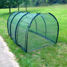 3m x 1m  Allotment Plant Protector Garden Net Mesh Tunnel Cloche Mini Greenhouse