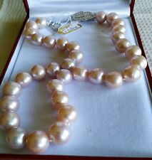 BABY PINK PEARL NECKLACE