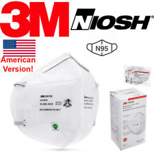 3M 9010 N95 Protective Disposable Face Mask Cover Mouth Nose KN95 NIOSH APPROVED