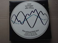 THE SCHOENFELD DUO - RAVEL / HONEGGER / VILLA LOBOS LP  SDBR 3243