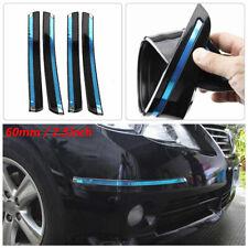 4PCS Car SUV Front+Rear Bumper PVC Crash Anti-rub Strip Protections Sticker
