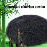 100% Activated Bamboo Charcoal Powder Absorb Toxin Vegetable Wash Food Carbon