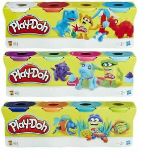 Play Doh 4 Tub Classic Colours | Choose Your Quantity | Play-Doh