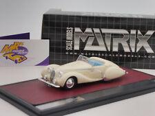 Matrix 41904-031 # Talbot Lago T150C Cabriolet offen Bj. 1936 in creme-weiß 1:43