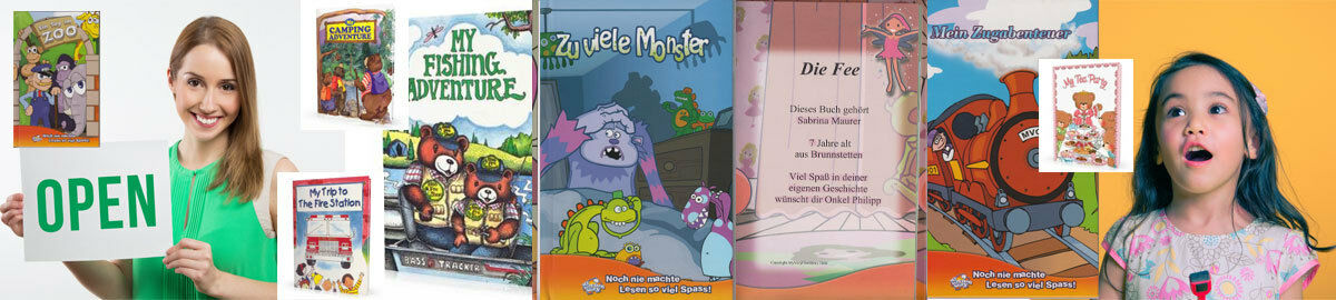 Alizoneu Personalisierte Bücher