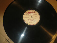 78RPM Coral Pinetoppers & Beaver Valley Sweethearts, Mockin' Bird Hill / Big VV+