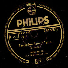 """MITCH MILLER The Yellow Rose Of Texas  """"JUKEBOX-HIT"""" / Blackberry Winter   S9148"""