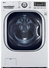 LG TurboWash Series WM3997HWA 27 Inch White Electric Washer-Dryer Combo
