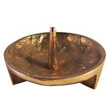 Bronze Leuchter Struktur 5,5 cm Durchmesser candle holder