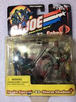 GI Joe: Snake Eyes vs. Storm Shadow (Hasbro 2001) (Sealed) New
