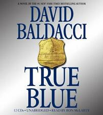 NEW * SEALED True Blue by David Baldacci (2009, CD, Abridged) 7CDS