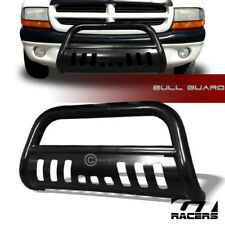 Blk Steel Bull Bar Brush Push Bumper Grill Grille Guard 1997-2004 Dakota/Durango