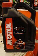 MOTUL 710 RACING 2 STROKE MOTORCYCLE OIL 1  GALLON BOTTLE FULL SYNTHETIC
