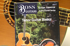 "TENOR GUITAR: ""Tenor Guitar Basics"" DVD for beginners"