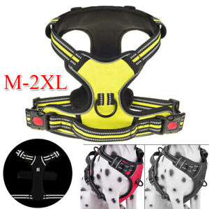 No-pull Pet Dog Harness Reflective Outdoor Safety Vest Jacket Padded Handle