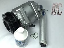 Remanufactured AC Compressor + new Drier for 2008-2014 Nissan Rogue w/ Warranty