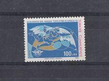 TURCHIA-TURKEY 1984 40° anniversario Org. Internazionale aviazione civile Mnh