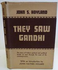 John S. Hoyland, They saw Gandhi. 1947