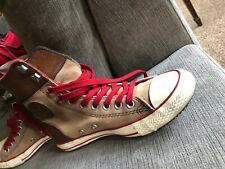 zapatillas converse mujer marrones