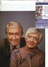 JAMES STEWART & BETTE DAVIS ACTRESS SIGNED PHOTO AUTOGRAPH JSA AUTHENTICATED