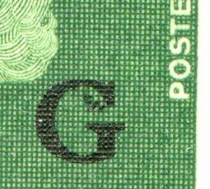 Weeda Canada O47 VF MNH block, 'Dotted G' semi-constant variety, ex-Bileski