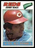 1977 Topps Johnny Bench Cincinnati Reds #70