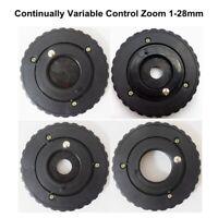 1-28mm Amplifying Diameter Zoom Iris Diaphragm Aperture Condenser for Microscope