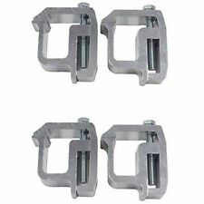 4x Truck Clamps For Mounting Caps Camper Shell Topper Canopy Heavy Duty Aluminum Fits Tacoma