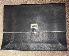 Proenza Schouler Black + Cream Leather  Clutch Bag